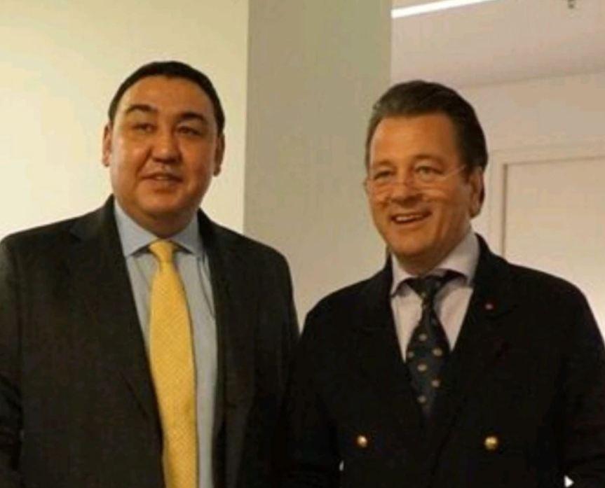 Botschafter von Kazakhstan besucht BVMW BundeszentraleBerlin
