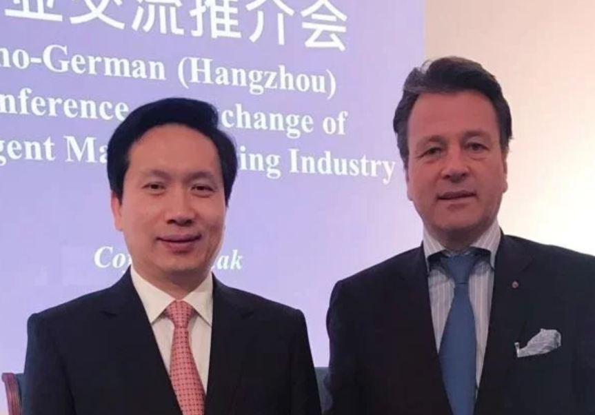Mayor of Hangzhou & German Mittelstand BVMW CEO