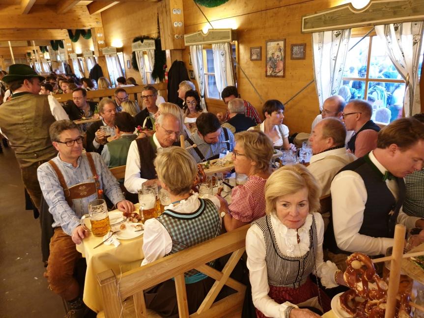 Senat des Deutschen Mittelstands auf OktoberfestEinladung