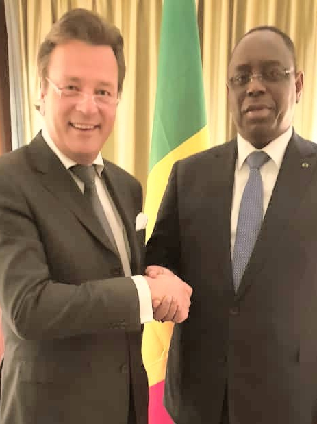 'Moving Forward – Meeting' with President of Senegal H. E. Macky Sall