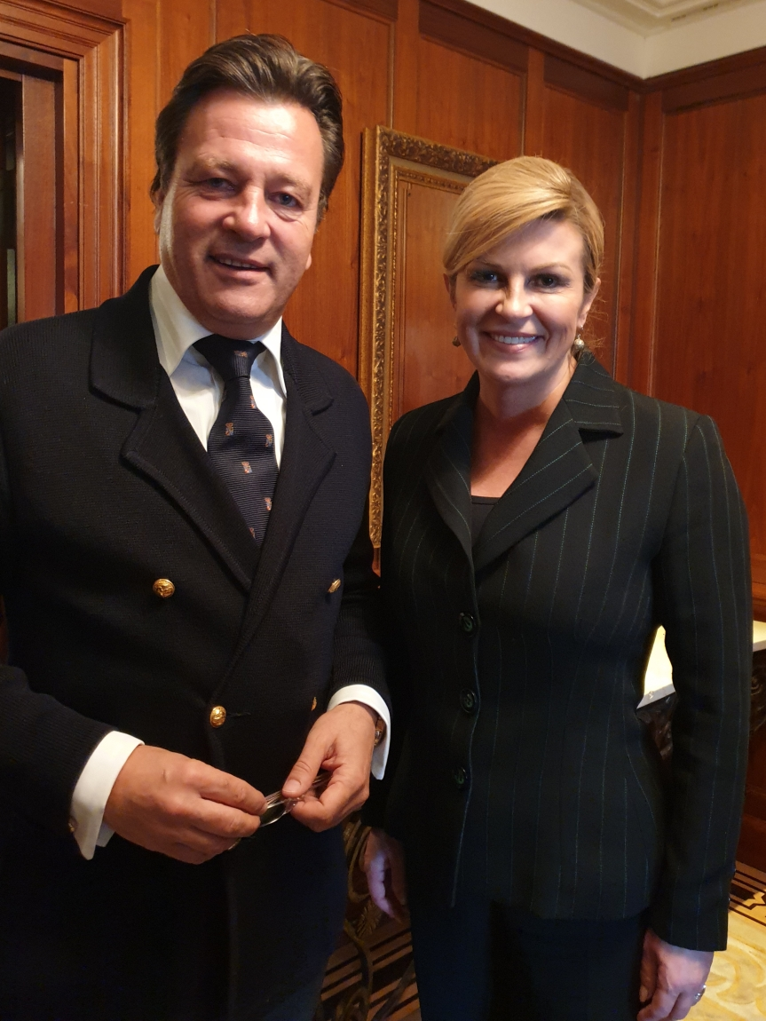SME Working Meeting with President of Croatia