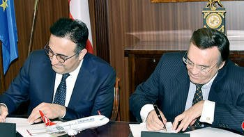 Der Mittelstand BVMW & Turkish Airlines sign cooperation paper
