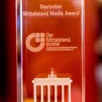 Deutscher Mittelstand Media Award 2018 für Dr. Ulf Poschardt, Chefredakteur WELT / WELT am Sonntag