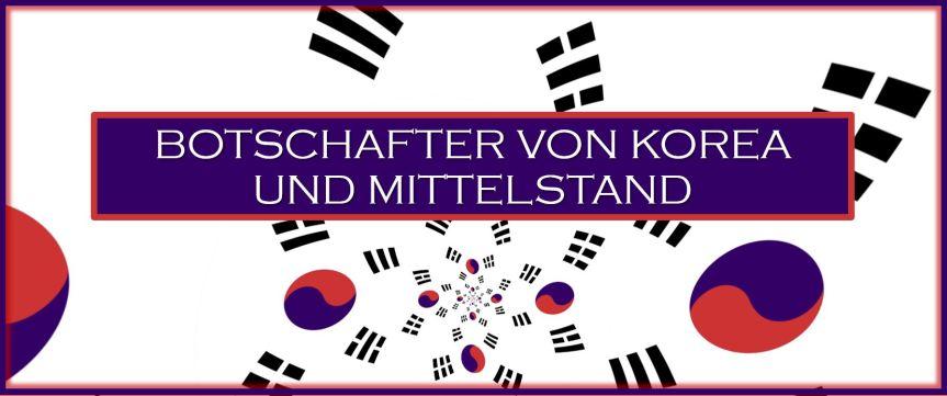 Südkorea Botschafter trifft deutscheUnternehmer