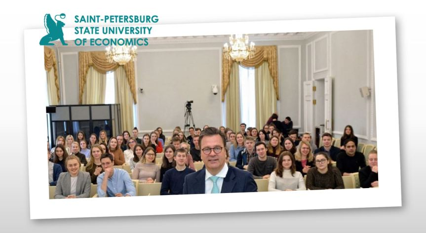 Lecture in Entrepreneurship @ State University of Economics, St.Petersburg