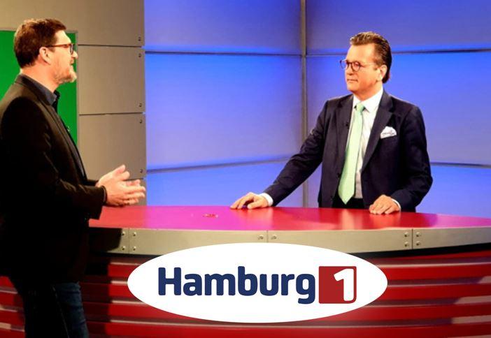 """Studio-Auftakt zur Serie """"MITTELSTAND : METROPOLREGIONHAMBURG"""""""