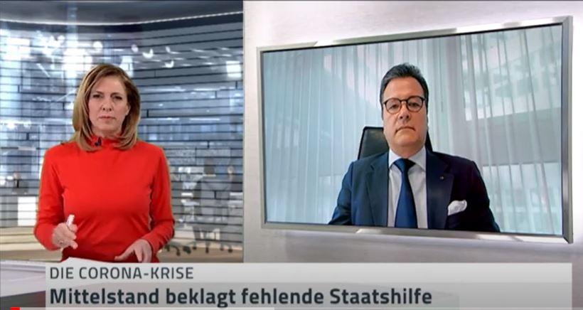 NTV-Interview: Mittelstand beklagt fehlendeStaatshilfe