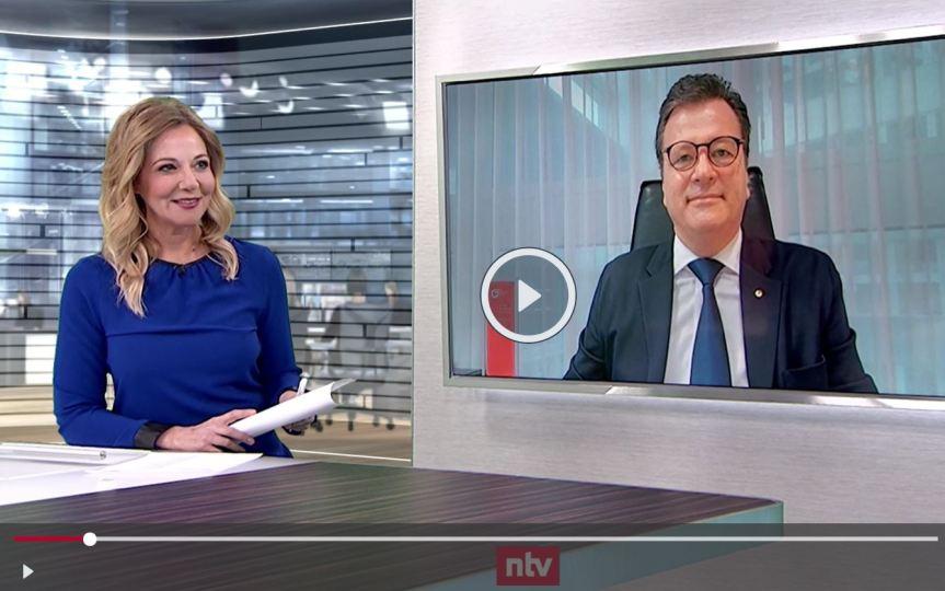 """NTV :  Jerger: """"Wirtschaftsgipfel war erster guterSchritt"""""""