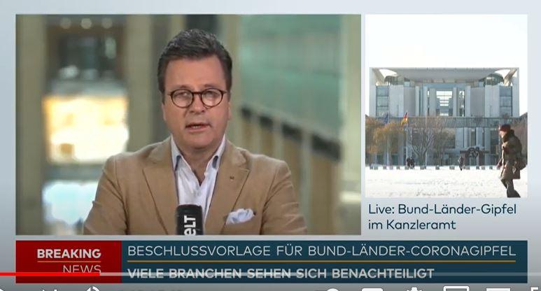 Interview WELT: Mittelstand drohenPleitewellen