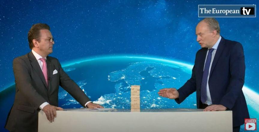 The European TV vom 15.April 2021 : Ansgar Graw und Markus Jerger imDialog