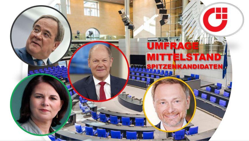 Mittelstand bevorzugt nach Bundestagswahl Regierungsbildung von Union undFDP
