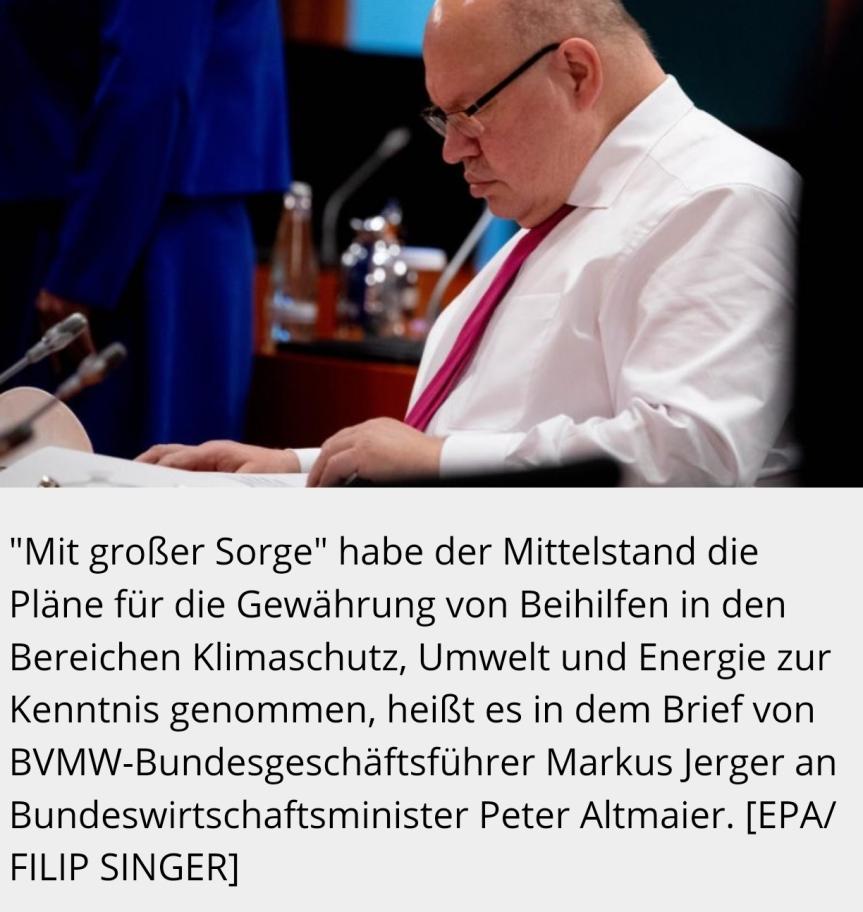 Mittelstand wehrt sich gegen Klimaschutzpläne derEU-Kommission