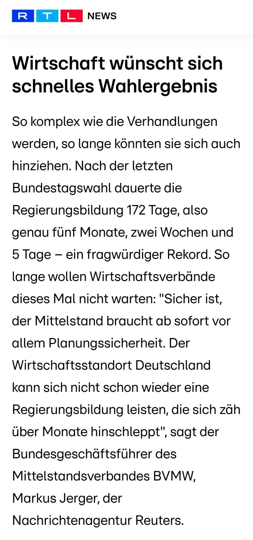 RTL NEWS : MITTELSTANDFORDERT…